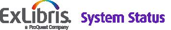 Ex Libris System Status