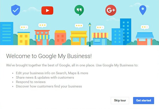 Welcome to Google My Business!
