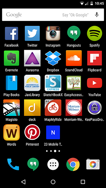 23 Mobile Things Icons